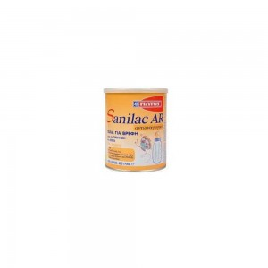 Sanilac AR Αντι-Αναγωγικό Γάλα Ενδείκνυται για την Αντιμετώπιση των Αναγωγών, 400g