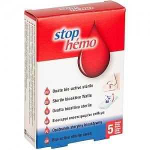 Stop Hemo Αποστειρωμένο Αιμοστατικό Επίθεμα 5Τμχ