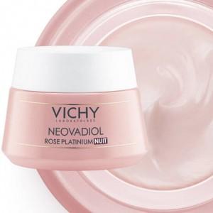 VICHY Neovadiol Rose Platinium Αντιγηραντική Κρέμα Νυκτός (50ml)