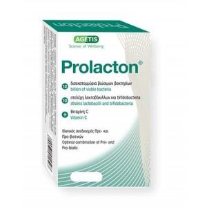 Prolacton Συνδυασμός Πρεβιοτικών και Προβιοτικών | 30caps