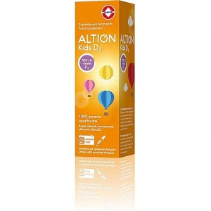 Altion Kids D3  400IU Βιταμίνης D3 20ml