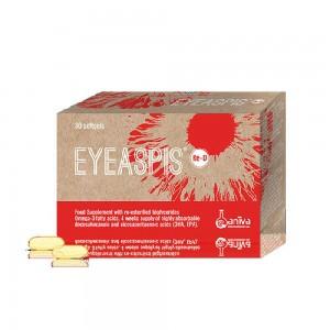 Aniva Eyeaspis Re-D 30 softgel (Συμπλήρωμα για την Διαχχείριση της Διαβητικής Αμφιβληστροειδοπάθειας)