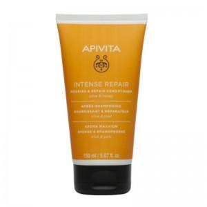 APIVITA Κρέμα Θρέψης & Επανόρθωσης για ξηρά ταλαιπωρημένα μαλλιά με ελιά & μέλι - 150ml