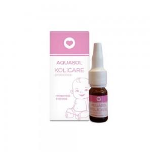 Aquasol Kolicare Probiotics Drops 8ml (Προβιοτικές Σταγόνες κατά των Βρεφικών Κολικών)