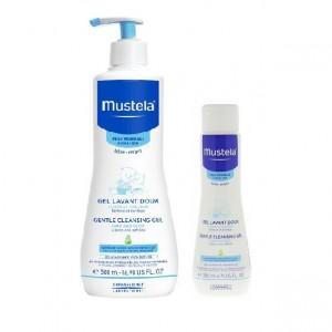 Mustela Cleansing Gel 500ml + Cleansing Gel 200ml Free