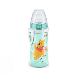 Nuk First Choice Active Cup Disney Winnie the Pooh Παγουρακί με Μαλακό Ρύγχος Σιλικόνης 12m+, 300ml