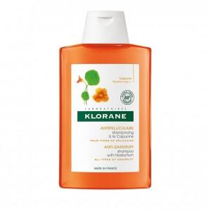 Klorane Shampoo Capucine Σαμπουάν κατά της ξηρής πιτυρίδας με εκχύλισμα καπουτσίνο 200ml