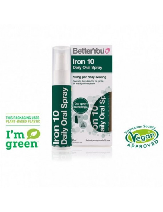 BETTER YOU - Iron 10 Daily Oral Spray - 25ml