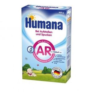 Humana AR, Αντιαναγωγικό Γάλα για Βρέφη,Χάρτινη Συσκευασία 400 gr