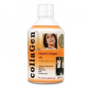 Medichrom Collagen Energy with Hyaluronic Acid Πόσιμο Κολλαγόνο με Υαλουρονικό Φραουλα 500ml