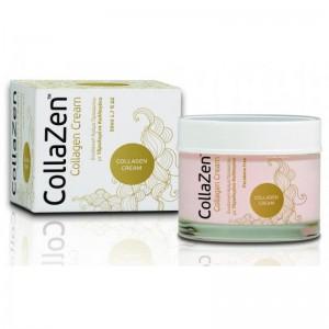 CollaZen Collagen Cream Ενυδατική Προσώπου με Υδρολυμένο Κολλαγόνο - 50 ml