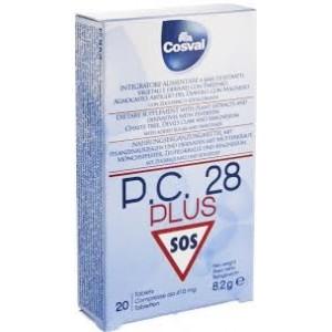 COSVAL P.C. 28 PLUS 20 tabs (μασώμενες) Φυτικό Παυσίπονο