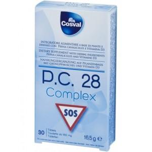 Cosval P.C. 28 Complex Φυτικό Παυσίπονο & Προστασία Χόνδρων και Αρθρώσεων, 30 ταμπλέτες