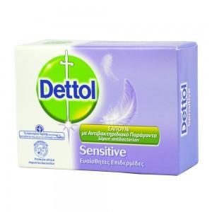 Dettol - Αντιβακτηριδιακό σαπούνι sensitive - 100gr