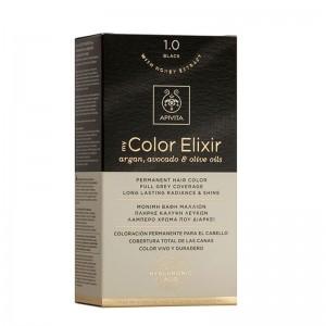 Apivita My Color Elixir Βαφή 1.0 Μαύρο