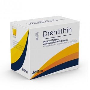 Drenlithin Διαιτητικό Τρόφιμο Ειδικού Ιατρικού Σκοπού με κιτρικό κάλιο, κιτρικό μαγνήσιο & πυριδοξίνη, 30 sachets