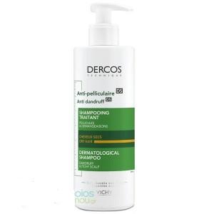Vichy Dercos Anti-Dandruff Αντιπυτιριδικό Σαμπουάν για Ξηρά Μαλλιά, 390ml