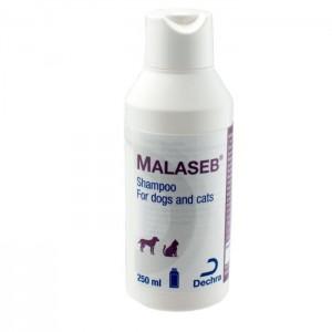 Malaseb Shampoo, 250ml Κτηνιατρικά Σαμπουάν για σκύλους & γάτες