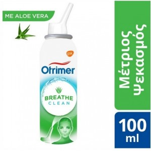 OTRIMER Breathe Clean με Aloe Vera, Μέτριος Ψεκασμός - 100ml