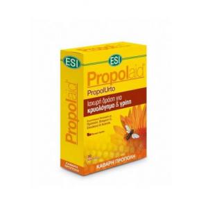 Propolaid PropolUrto Συμπλήρωμα Διατροφής με Πρόπολη, Βιτ. C, Εχινάκεια & Acerola για το Ανοσοποιητικό 30 vcaps
