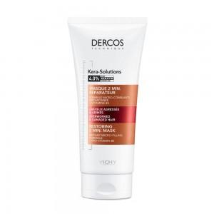 Vichy Dercos Technique Kera - Solutions Restoring 2min Mask Μάσκα Επανόρθωσης Μαλλιών 200ml.
