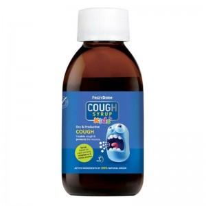 Frezyderm Cough Syrup Kids Φυτικό Σιρόπι για τον Ξηρό και Παραγωγικό Βήχα 182gr
