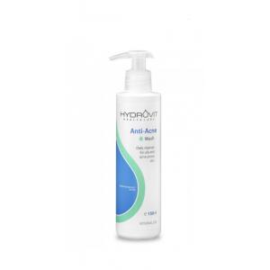 Hydrovit Anti-Acne Wash, Καθαρισμός για Λιπαρότητα & Ακμή 150ml