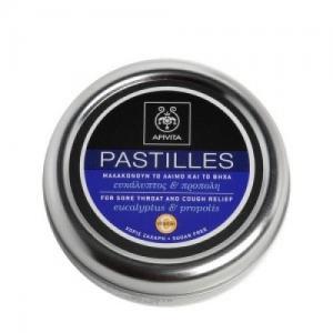 Apivita Pastilles παστίλιες για τον πονεμένο λαιμό και το βήχα με ευκαλυπτο & προπολη,45 g