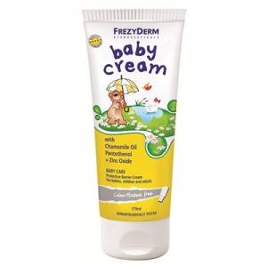 Frezyderm Baby Cream με Xαμομηλέλαιο,Παντοθενόλη & Οξείδιο του ψευδαργύρου 175ml