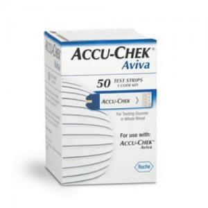Accu-Chek Aviva ταινειες μετρησης ζαχαρου 50τμχ