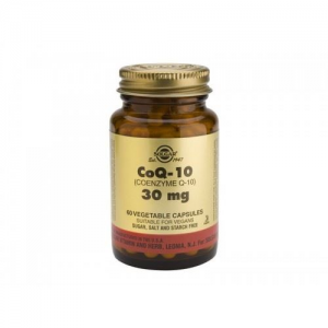 Solgar Coenzyme Q10 30mg 60 Vegetable Capsules
