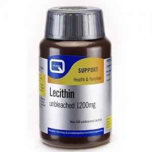 Quest Lecithin Unbleached 1200 mg Συμπλήρωμα διατροφής 45 caps