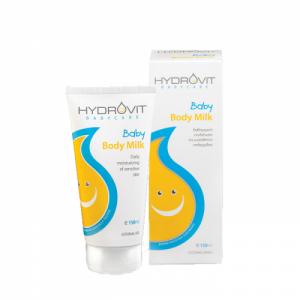 Hydrovit Baby Body Milk 150ml - Καθημερινή Ενυδάτωση Της Ευαίσθητης Επιδερμίδας