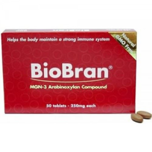BioBran  MGN-3  Arabinoxylan Compound 250mg  50tabl
