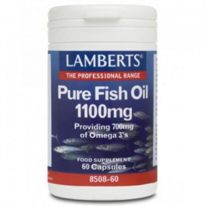 Lamberts  Pure Fish Oil 1100mg (EPA) (Ω3) 60caps