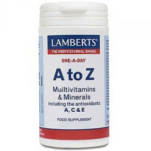 Lamberts A to Z Multivitamins, 30 Ταμπλέτες