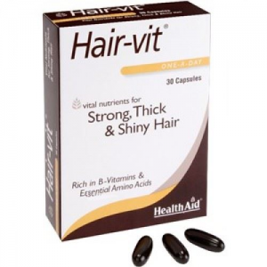 Health Aid HairVit  Strong, Thick & Shiny Hair 30caps