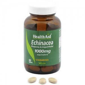Health Aid Echinacea 1000mg, 60 Tablets