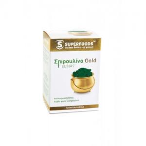 SuperFoods Σπιρουλίνα Spirulina Gold EUBIAS 50caps