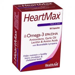 Health Aid HeartMax Δυνατή Καρδιά, 60 Capsules