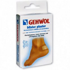 Gehwol Blister Plaster 6τεμάχια Αυτοκόλλητο Για Φουσκάλες