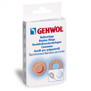 Gehwol Bunion Ring Round 6 τεμάχια Στρογγυλός προστατευτικός δακτύλιος για τα κότσια