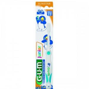 GUM Junior 215 Παιδική Οδοντόβουρτσα (7-9 ετών) κατάλληλη για για τα αναπτυσσόμενα δόντια του παιδιού.