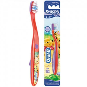 Oral-B Stages 2. My Friends Tigger and Pooh Toothbrush