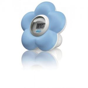 AVENT Θερμόμετρο για το μπάνιο/δωμάτιο Μπλε λουλούδι SCH550/20