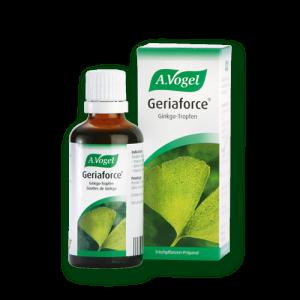 A.Vogel Geriaforce,βάμμα απο φρέσκα φύλλα Gingko Biloba( γκίνγκο),50 ml