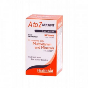 Health Aid A to Z Multivit, 90tab