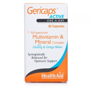 Health Aid Gericaps Active, 30caps