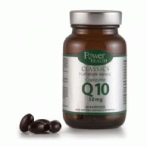 Power Health Classics Platinum Coenzyme Q10 30mg Συμπλήρωμα Διατροφής Για Την Παραγωγή Ενέργειας, 30 Κάψουλες