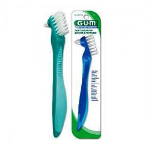 GUM 201 Denture Brush οδοντόβουρτσα για οδοντοστοιχιες